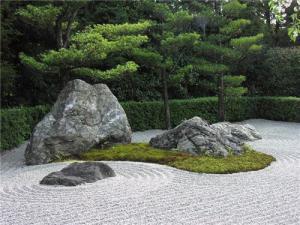 Фонтаны в японском саду, дизайн