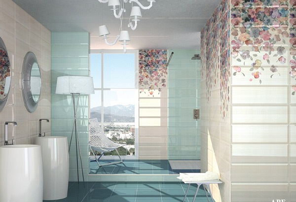 Узоры для ванных комнат 37
