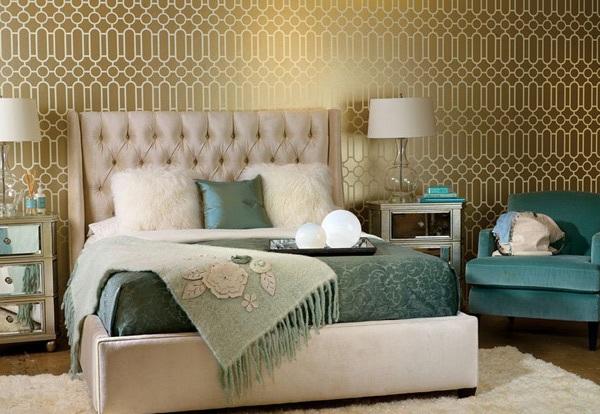 Сочетание цветов в интерьере спальной комнаты