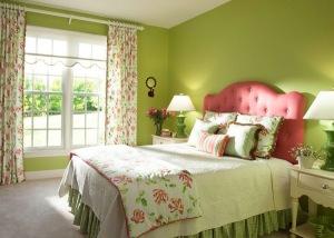 Весеннее настроение в спальне