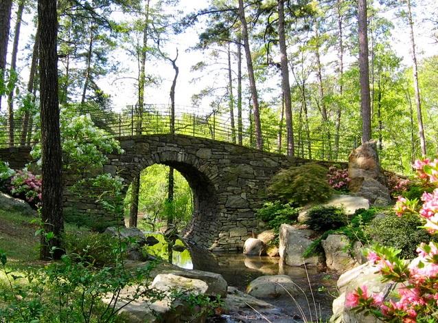 Пейзажный ландшафтного дизайна