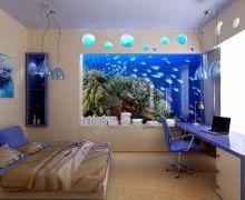 Дизайн спальни для мальчика. Морская тема