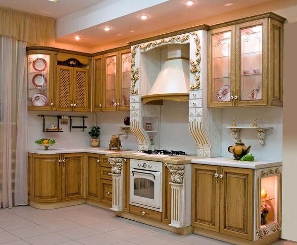 красивые кухни фото в квартире