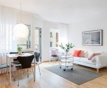 Красивые и уютные квартиры студии