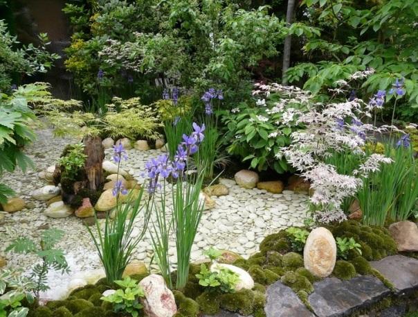 Альпийская горка – шедевр в вашем саду. Коллекция фото