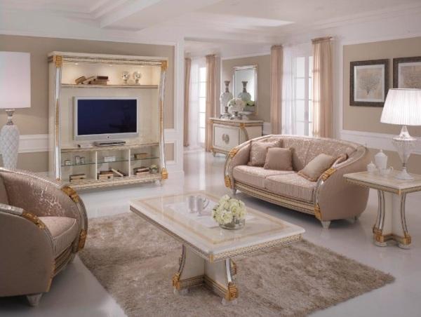 Фото классических гостиных