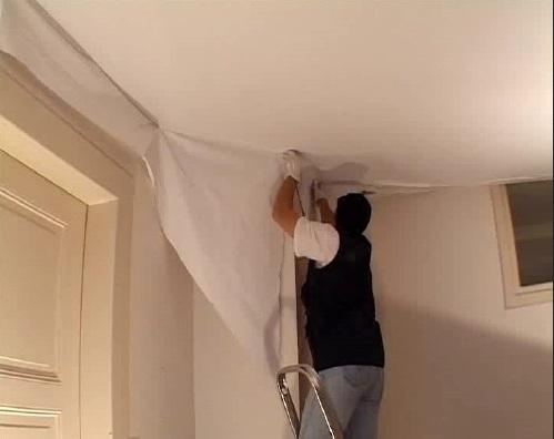 фото гарпуна для натяжного потолка