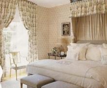 Английский стиль: спальня аристократа