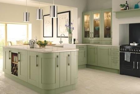 кухни фото фисташковый цвет