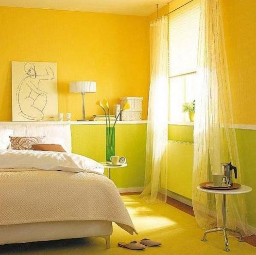 Спальня в зеленом цвете. 21 фото
