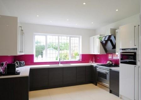 Кухню цвета фуксии фото