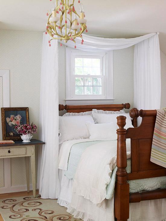Маленькая спальня своими руками фото