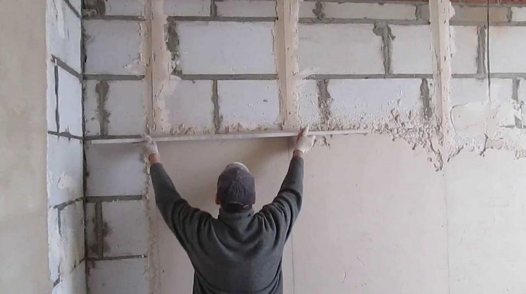 Стены в доме своими руками фото