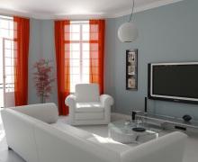 Маленькая гостиная прекрасному дизайну не помеха!