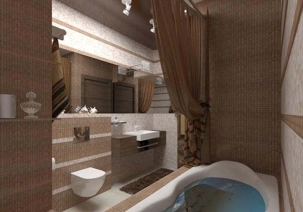ванная в квартире 40 кв м