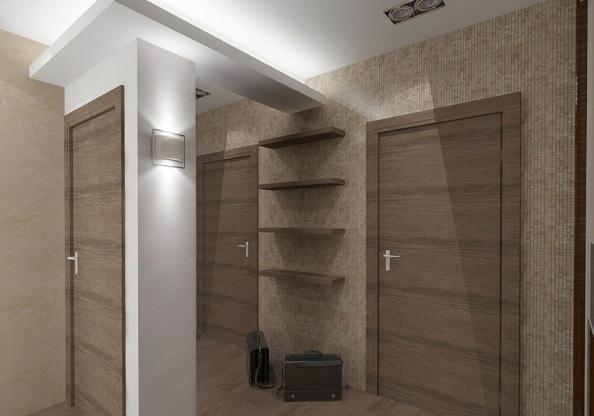 дизайн мебели в прихожей