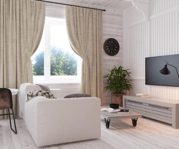 дизайн однокомнатной квартиры студии 30 кв м