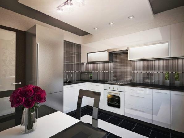 Дизайн проект однокомнатной квартиры 35 кв.м