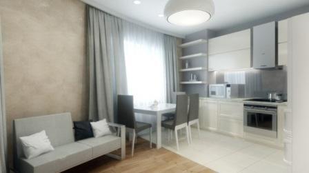 кухня в двухкомнатной квартире 50 кв м