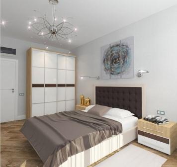 встроенный шкаф в спальне