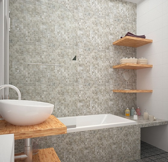 ванная в однокомнатной 45 кв м