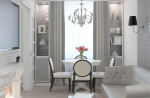 Дизайн трехкомнатной квартиры 60 кв м