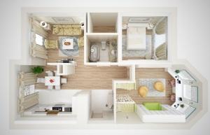 планировка трехкомнатной квартиры фото