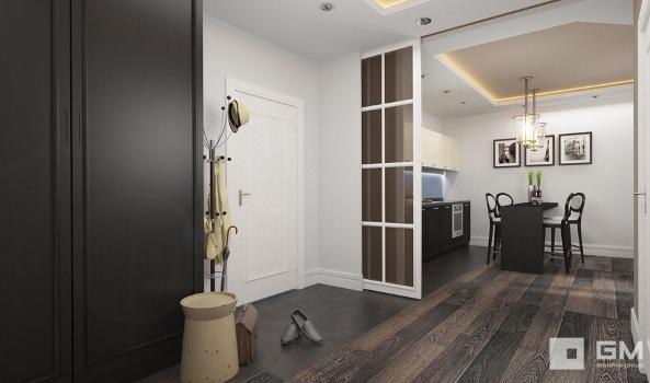 оформление прихожей в двухкомнатной квартире