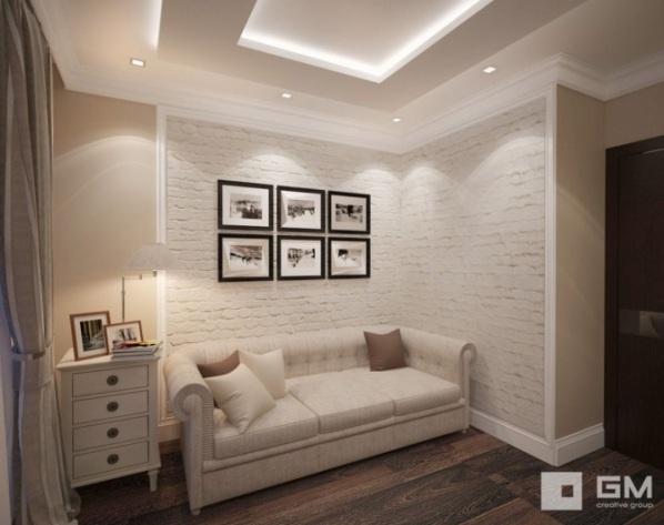 Дизайн спальни размером 3 на 4