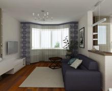 Дизайн трехкомнатной квартиры 80 кв.м. 5 фото-проектов для создания интерьера-мечты!