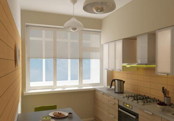 Кухня 6 на 3 дизайн
