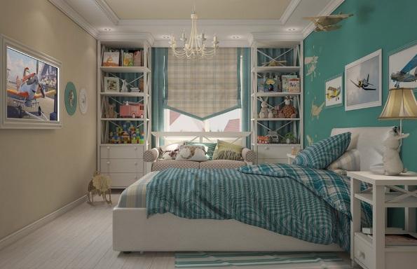 Бра в интерьере спален