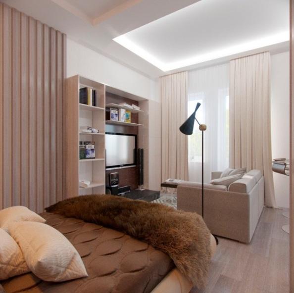 Оформление квартиры студии
