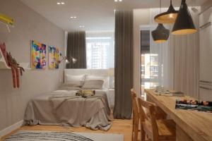 Однокомнатная квартира дизайн фото 33 кв м