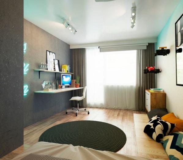 Оформление однокомнатной квартиры 33 кв м