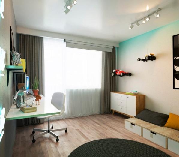 1 комнатная квартира дизайн фото