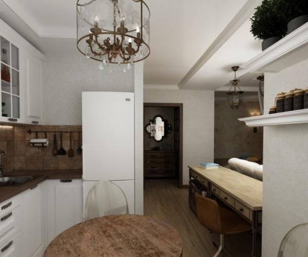 дизайн 1 комнатной квартиры 33 кв м фото